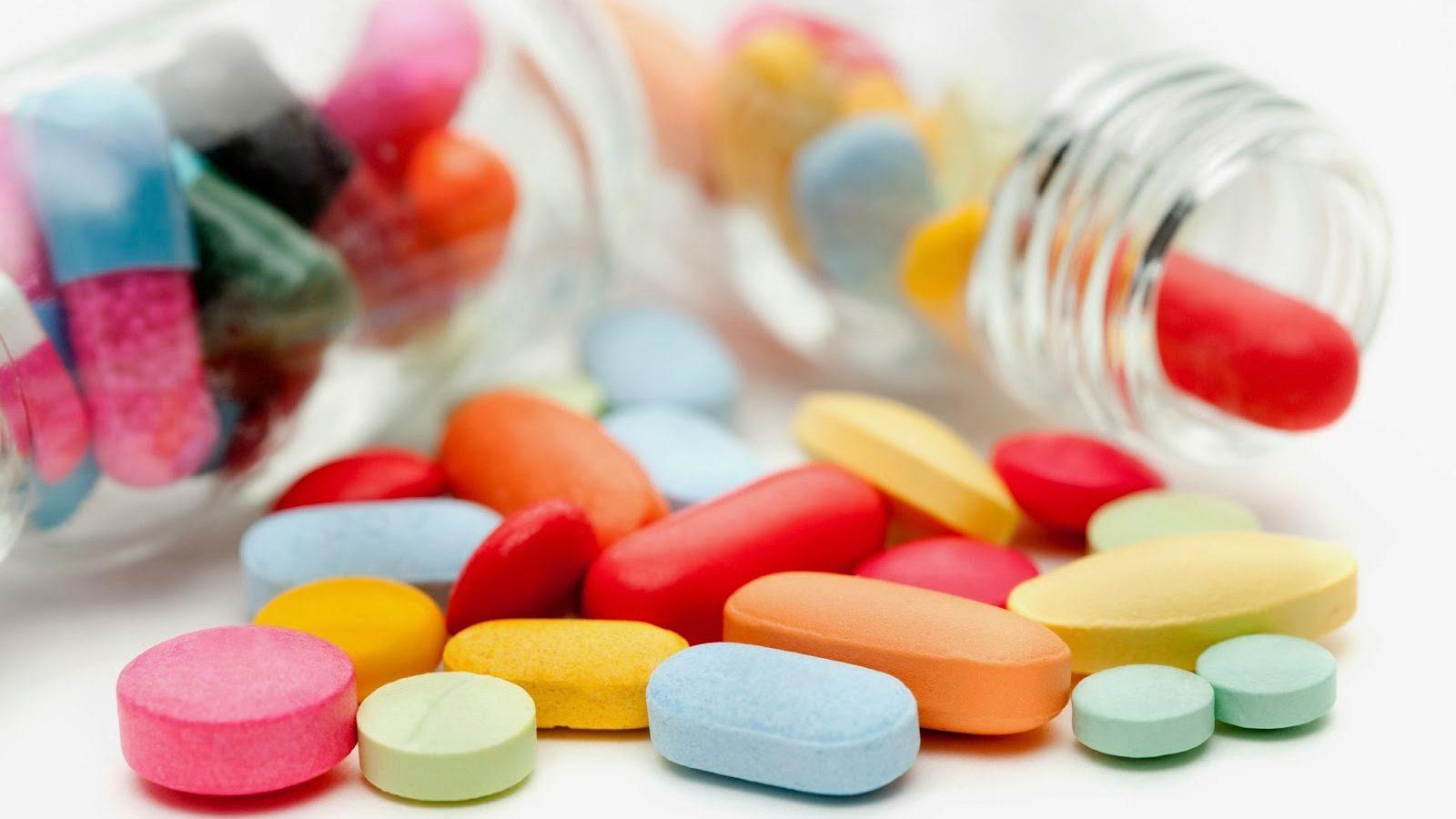 pastillas de colores